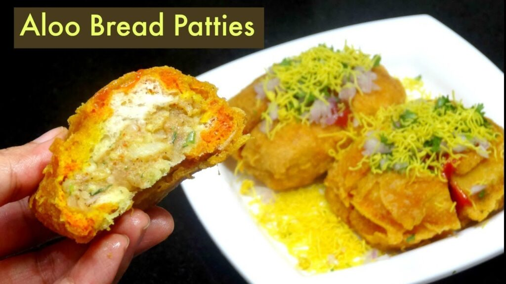 Aloo Bread Patties | आलू ब्रेड पैटी | Bread Pakora | KabitasKitchen