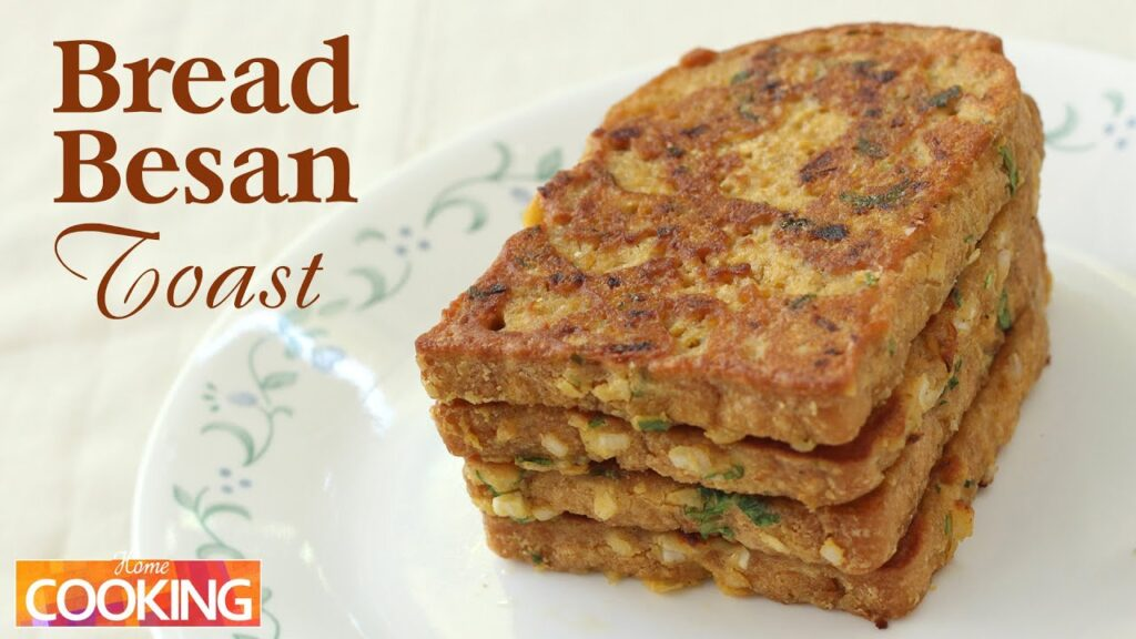 Bread Besan Toast | Bread Recipes