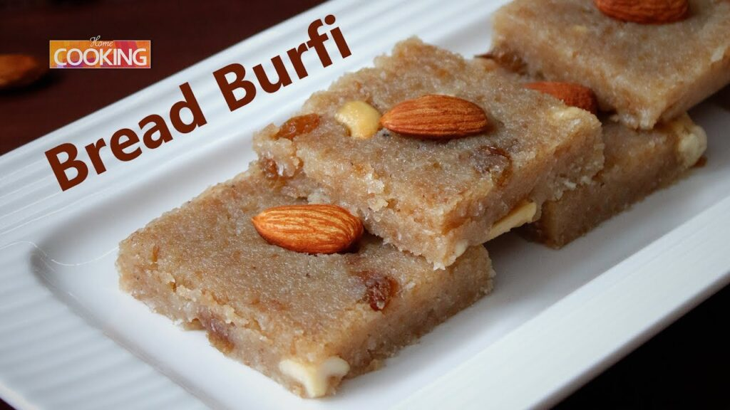 Bread Burfi | Bread ki burfi | Home Cooking