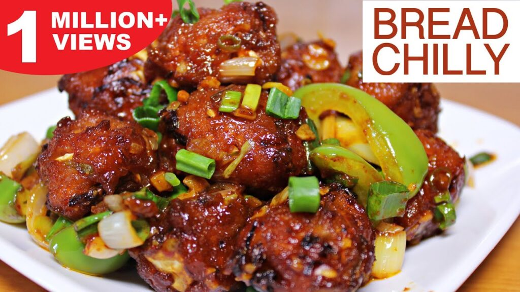 Crispy Bread Chilly Recipe | Chinese Starter Recipe | Tea Time Snack Recipe | Kanak's Kitchen