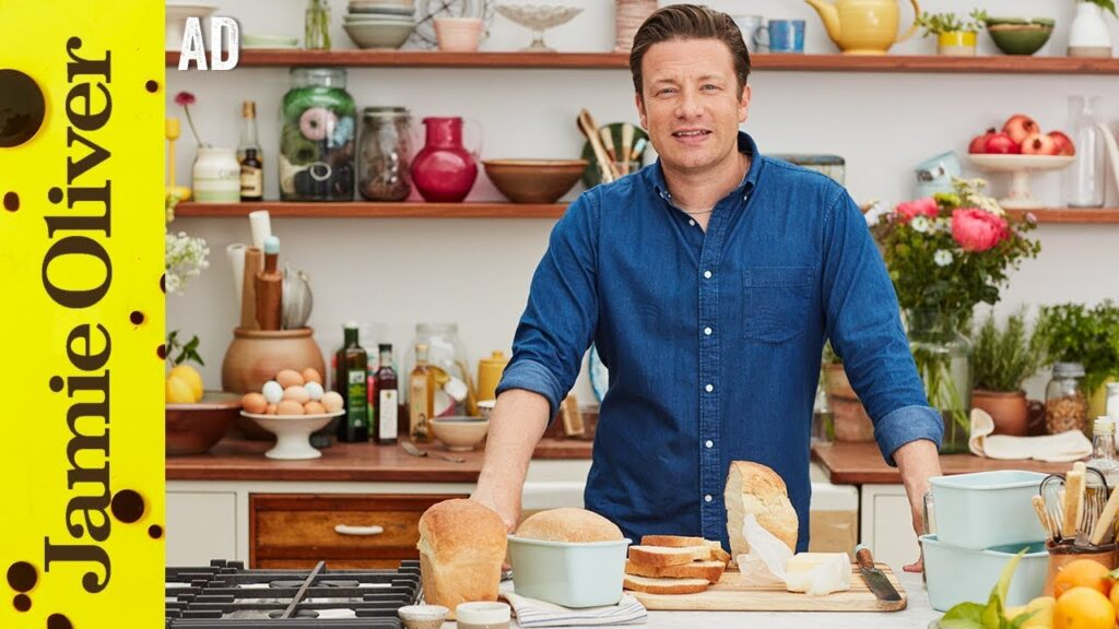 How To Make Bread | Jamie Oliver – AD