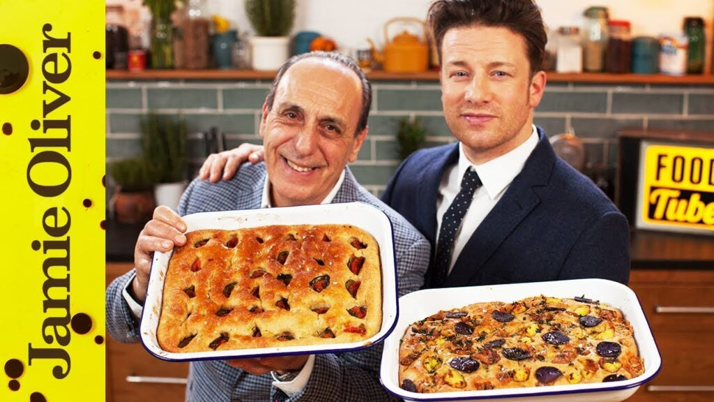How To Make Focaccia | Jamie & Gennaro