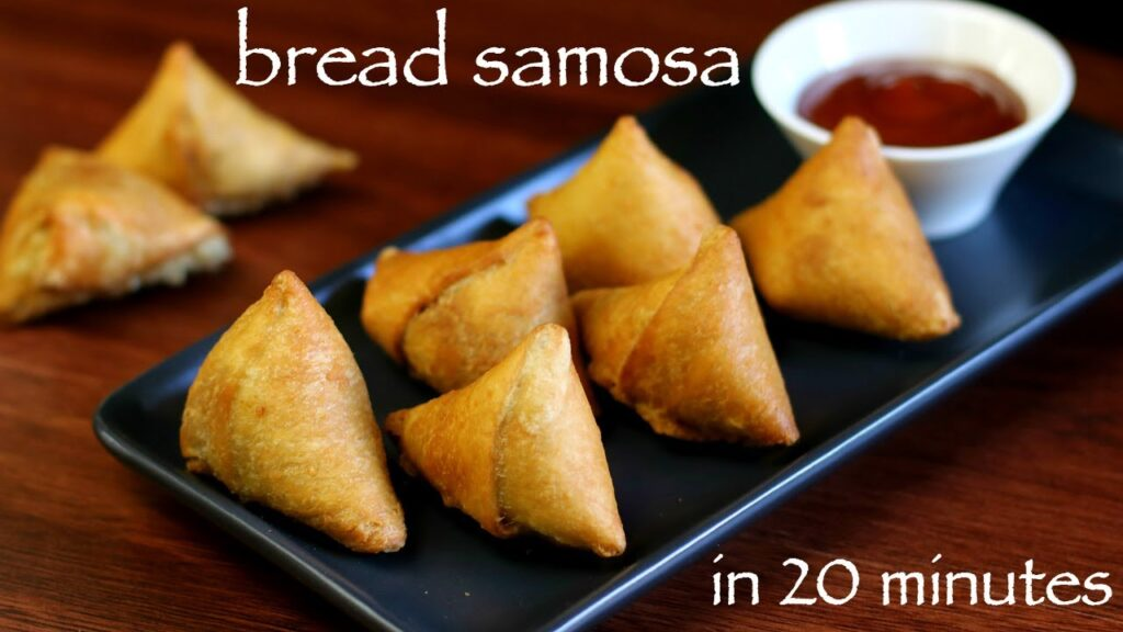 bread samosa recipe | how to make bread samosa | easy samosa recipe